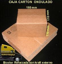 50 CAJAS CARTON B1 16X11X11cm IDEAL PARA ENVIOS PEQUEÑOS EN KRAFT REFORZADO