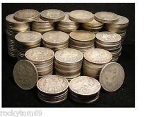 Morgan Silver Dollar Cull Condition  90% Silver (10)Coins No Holes No slicks!