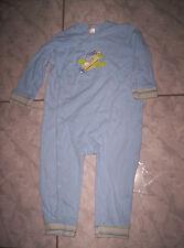 "Toller Overal/Pyjama""TCM""  m. Flugzeug-Motiv, hellblau  Gr.86/92"