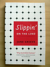 Slippin' on the Lino by Jane Grieve (Paperback, 2009) SIGNED BY AUTHOR