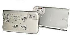 LG Akkudeckel Akkuabdeckung Handy Batterieabdeckung in Silber für LG KM900