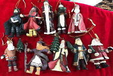 "Duncan Royale 1991 Ltd Ed Set Of 10 Christmas ""History Of Santa Claus I�"