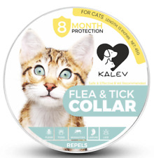 Kalev Chemical Free Flea and Tick Collar for Cats Waterproof Last 8 Months