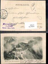 137884,Gruss vom Herzogstand Bayern 1898