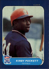 "1986 Fleer ""Mini"" Kirby Puckett Card HOFer"