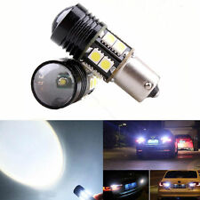 10W Xenon White 1156 S25 P21W Cree R5 LED 12SMD Car Backup Reverse Light Bul S~