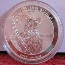 2015 Koala AUSTRALIA  1 OZ .999 Silver Australian Bullion Coin BU UNC
