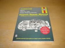 Haynes Porsche 911 Targa Carrera Classic Owners Workshop Manual Manuel Livre