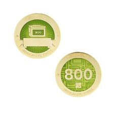 Milestone Geocoin and Tag Set - 800 Finds Geocaching Official Trackable