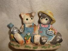 Collectible Priscilla Hillman Calico Kittens 1996 #5C4/399. #009