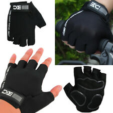 Fingerless Cycling Bicycle Road MTB Race Summer Gloves Non slip Palm Breathable