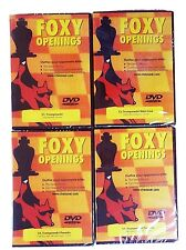 Foxy Openings Chess DVD 51, 52, 53,  54 - Trompowsky 4 DVD Package