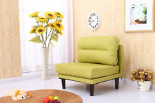 Fabric Accent Chair Sofa Comfy Linen Bedroom Living Room Occasional Chair