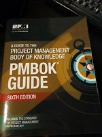 PMBOK 6th Ed- Paperback: a guide to the project management body of knowledge