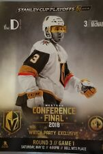 Watch party exclusive Western Conference Final poster Brayden McNabb