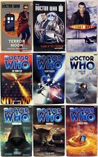 9 Dr Who Paperback Books - Uk Printing