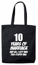 10 Years Marriage Gift Bag, 10th Wedding Anniversary gifts presents for her wife