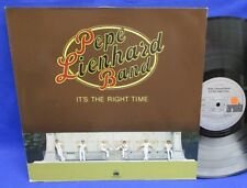 LP PEPE LIENHARD BAND - IT'S THE RIGHT TIME / GERMAN ARIOLA *** CLUB EDITION ***