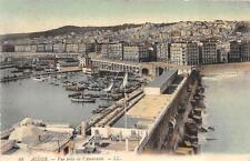 ALGER ALGERIA VUE PRISE DE L' AMIRAUTE SHIPS AFRICA POSTCARD