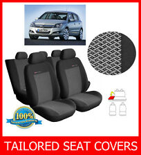 Tailored seat covers for OPEL ASTRA H 2004 - 2009  full set grey2