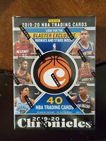 2019-20 Panini NBA Basketball Chronicles Blaster Box. Lot of 12. NEW. ZION? JA?