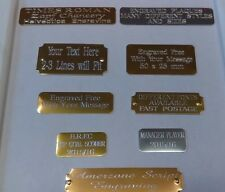 ENGRAVED TROPHY AWARD PLAQUE PLATE  MANY SIZES & STYLES
