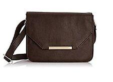 Womens New Chestnut Brown Crossbody Messenger Bag Ladies Shoulder Handbag STORM