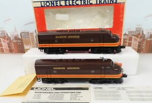 Lionel O Gauge No.6-8580 Illinois Central F-3 AA Unit Diesel Engine Set With Box