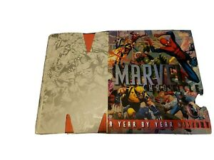 MARVEL CHRONICLE Year By Year History HC Slipcase Comic Book Good! 🔥🔥🔥🔥🔥🔥