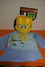 "RARE 1990 BEN COOPER= BART SIMPSON ""HALLOWEEN COSTUME"" on CARD"