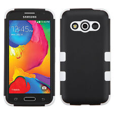 T-Mobile Samsung Galaxy Avant IMPACT TUFF HYBRID Protector Case +Screen Guard