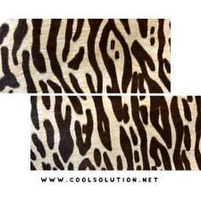 Cowhide Stenciled Sheets Wild Cat, Cut to size, Hair On Hide for , Wallets