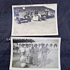 FOTO MILITARE COLONIE AFRICA ERITREA MASSAUA PRE WW2 1935 AUTOTRASPORTO RA