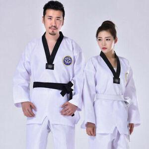 Professional Taekwondo Uniform Clothes Traditional Suit Children Adult Students