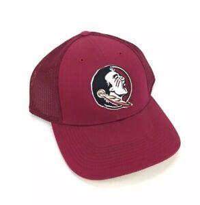 NEW Nike Performance Florida State Seminoles L91 Mesh Mens Hat Cap Red Size M/L
