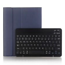 """Bluetooth Keyboard Folios Leather Case With Pencil Slot For iPad Pro 10.5"""" Apple"""