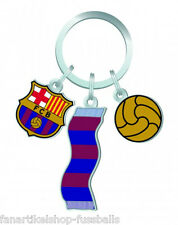 FC Barcelona Fanartikel Schlüsselanhänger Logo Keychain Primera Division Neuheit