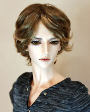 "1/3 bjd 9-10"" doll head 2 colors synthetic mohair wig Soom Pullip Taeyan W-177XL"