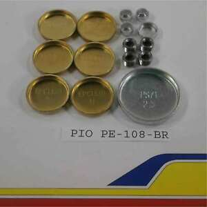 Pioneer Products Pe-108-br Freeze Plug Kit Ford Windsor Brass Bagged