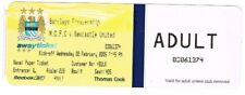 Billet-Manchester City v NEWCASTLE UNITED 02.02.2005