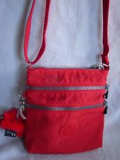 Kipling Alvar Extra Small Mini Bag Red Nylon Cross-body Purse Bag