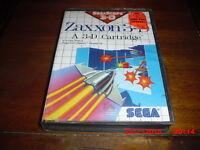 Zaxxon 3-D (Sega Master System, 1988) BRAND NEW