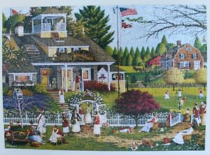 """Buffalo, Charles Wysocki ~ """"LOVE"""" ~ 300 Large Piece Puzzle, Includes Poster"""
