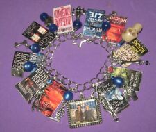 Temperance Brennan Novels- - Altered Art Charm Bracelet-H​andmade-OO​AK