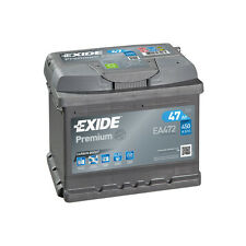 1x Exide Premium 47Ah 450CCA 12v Type 063 Car Battery 4 Year Warranty - EA472