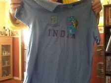 Brand New 2007 ICC Cricket World Cup West Indies Tee Shirt Size Large India