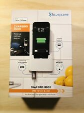 New BlueFlame Charging Dock NIP Ipod Touch 5th Gen iPhone 5 Lightning Blue Flame