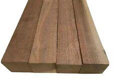 4 Pack Set,  Black Walnut Lumber Board, Turning Wood,  2