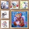 Kungfu Bear DIY 5D Diamond Paint Embroidery Cross Stitch Kit Home Decor