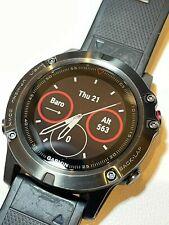 Garmin fēnix® 5X Sapphire Smartwatch 51mm Slate Gray with Black Band